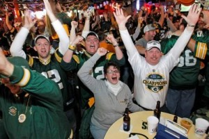 Green Bay Packers bar