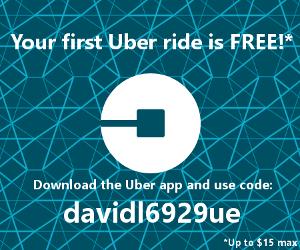 Uber free ride code